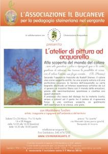 L'atelier di pittura ad acquarello con Maddalena Turchini artista, insegnante e ingegnere dell'ambiente e del territorio