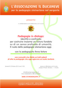 Conferenza pedagogia